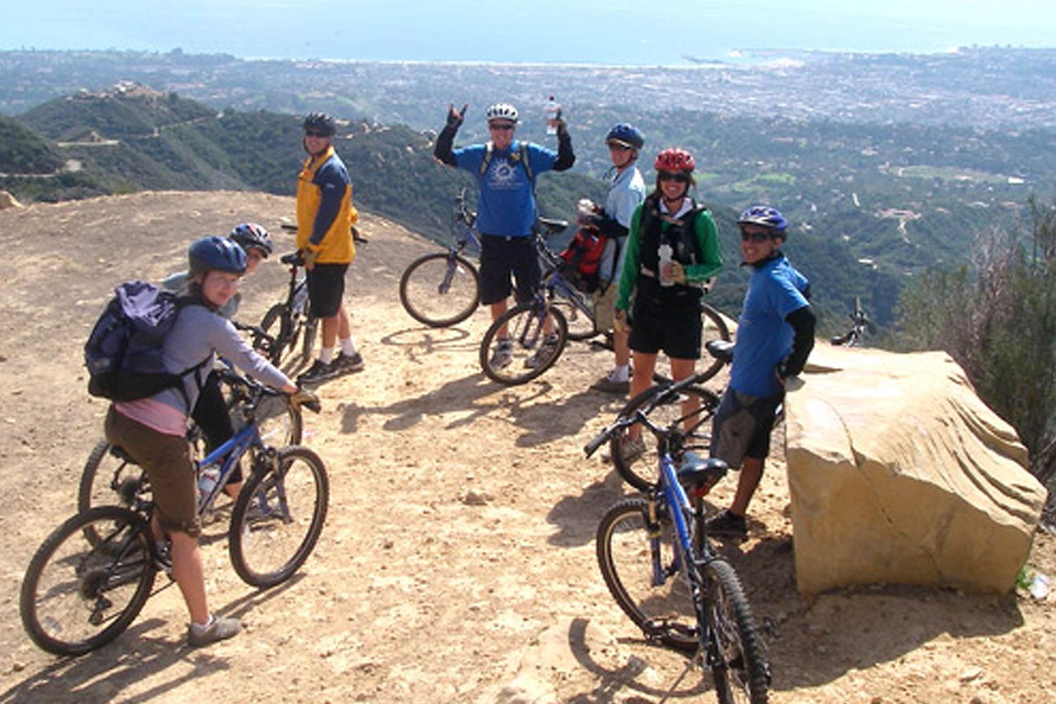 team building hiking and biking
